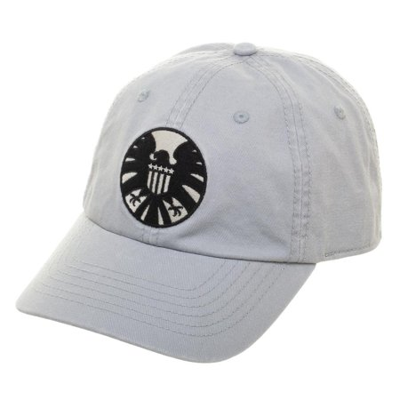 Marvel Captain Marvel S.H.I.E.L.D Cap Adjustable Hat - Cheap Captain Hats