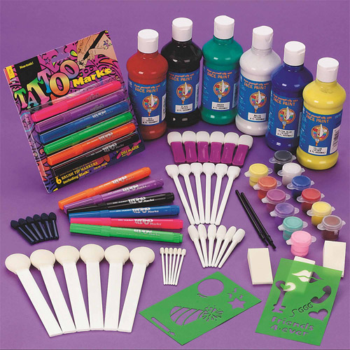 Carnival Face Painting Easy Pack