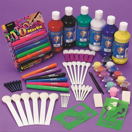 Carnival Face Painting Easy Pack - Halloween Face Painting Simple