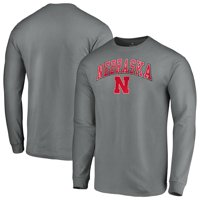 Nebraska Cornhuskers Fanatics Branded Campus Long Sleeve T-Shirt - Charcoal