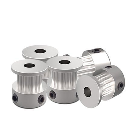 3D Printer Drive Belt Pulleys 2GT-16 GT-20 Teeth Timing Pulley Alumium Bore 2GT-16