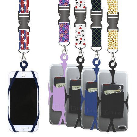 Gear Beast Cell Phone Lanyard Neck Strap with Snap Buckle Release & Safety Clasp
