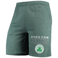 Boston Celtics Concepts Sport Squeeze Play Knit Shorts - Heathered Kelly Green