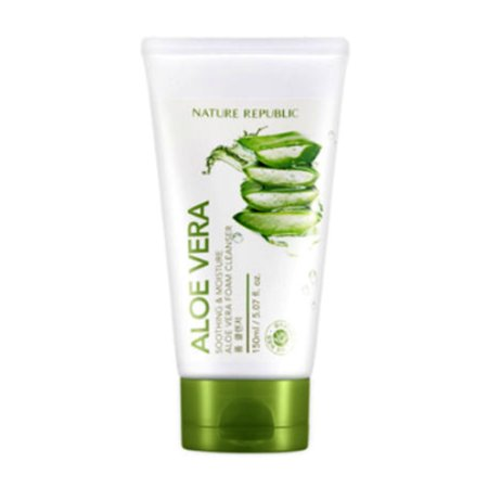 Nature Republic Aloe Vera Foam Cleanser