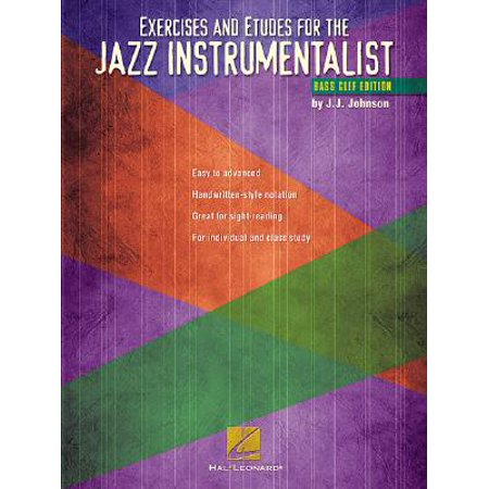 Exercises and Etudes for the Jazz Instrumentalist : Bass Clef Edition