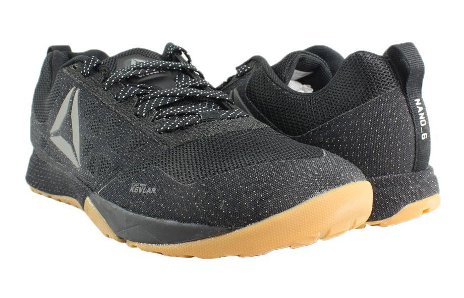 2328fe0c4c636c Reebok - Reebok Mens R Crossfit Nano 6.0 Black Cross Training Shoes Size 12  New - Walmart.com