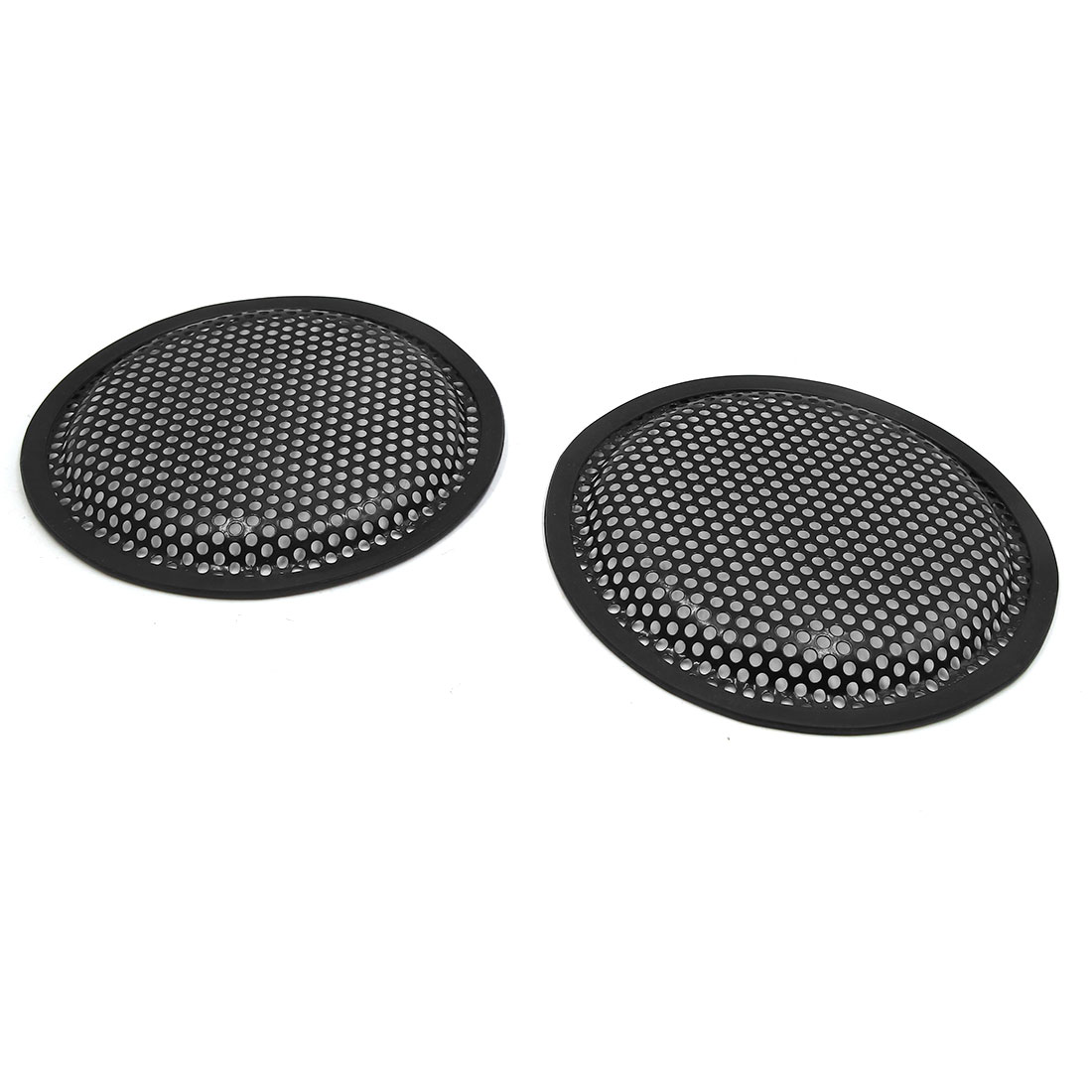 """2pcs 6.5"""" Car Stereo Metal Mesh Speaker Subwoofer Grill Cover Guard Protector"""