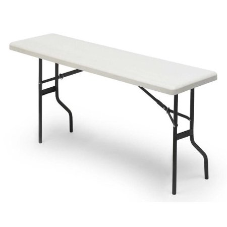 Iceberg indestructable too 1200 series resin folding table for Table induction 71 x 52