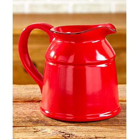 The Lakeside Collection Ceramic Country Crock Vases Red ()