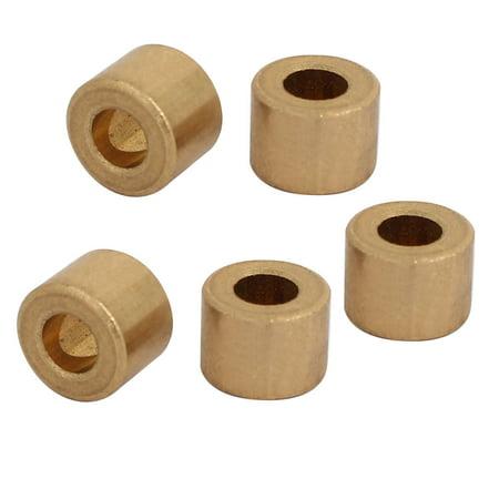 4mm x 8mm x 6mm Self-lubricating Bushing Sleeve Brass Bearings (Wood Bushings)