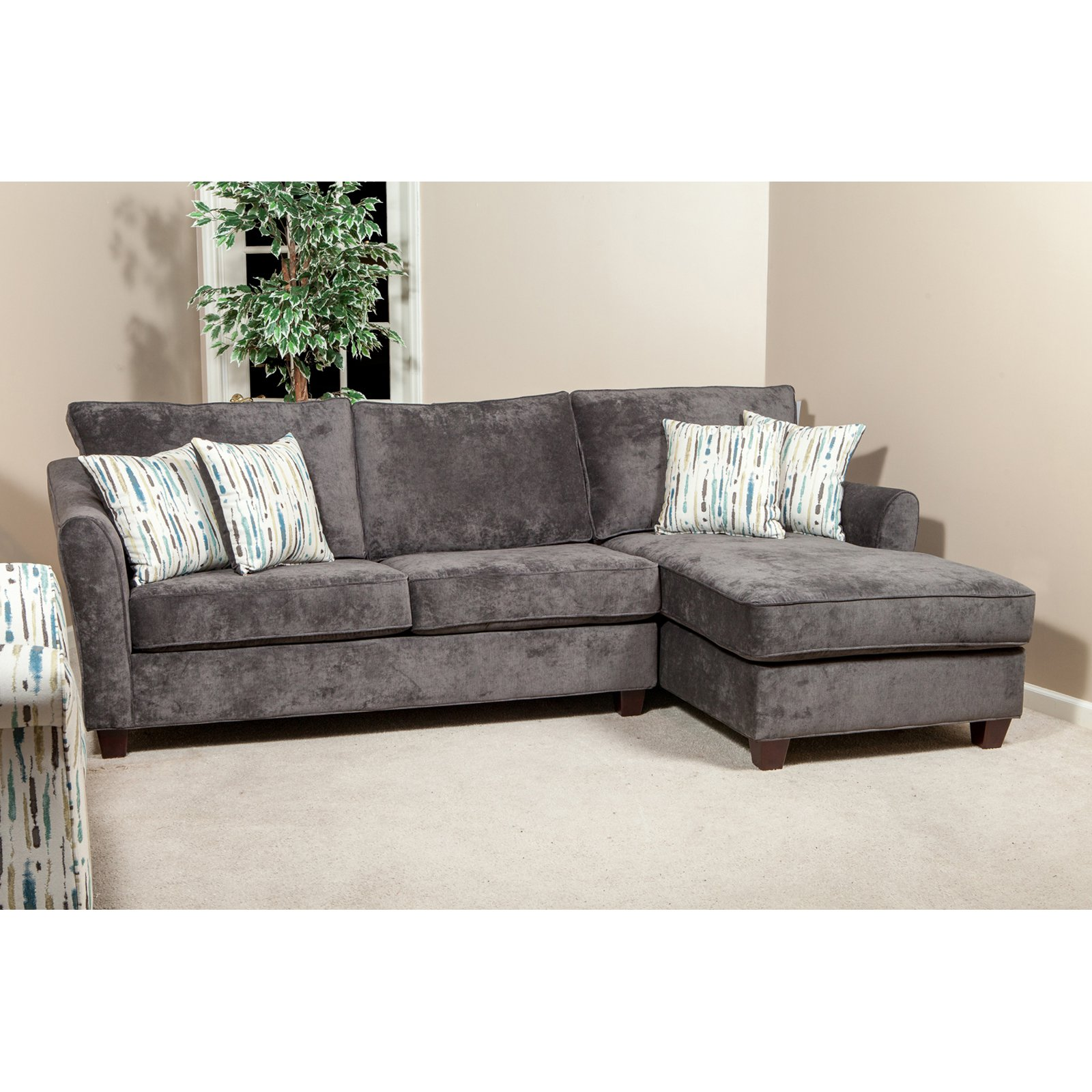 Chelsea Home Furniture Northborough Sectional Sofa Walmart