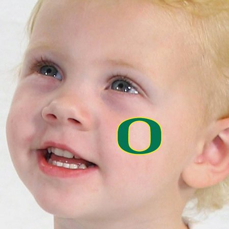 Oregon Ducks 4-Pack Waterless Temporary Tattoos- - No Size