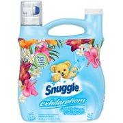 Snuggle Exhilarations Island Hibiscus & Rainflower, 112 Loads Liquid Fabric Softener 96 fl oz