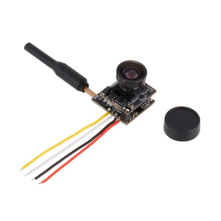 Turbowing 48CH 25mW NTSC/PAL 700TVL FPV Transmitter Camera 120° Lens Support OSD for Inductrix QX90 Micro Racing Drone - image 1 of 7
