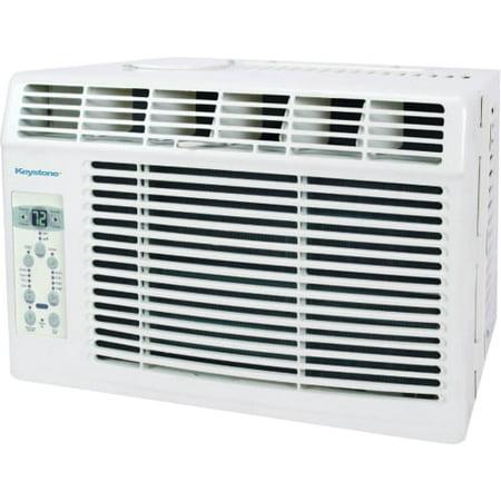 Manual A/c Controls - Keystone KSTAW05B 5,000 BTU 115V Window-Mounted Air Conditioner with