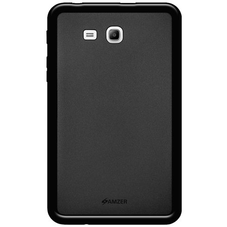 sports shoes d6df4 f667b Samsung Galaxy Tab 3 V Case Charger Combo, Premium Slim Fit ShockProof  Matte TPU Case Back Cover with Micro USB Car Vehicle Home Wall Travel  Charger ...
