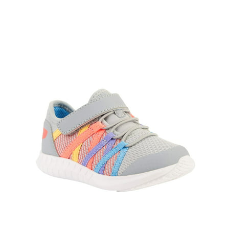 Athletic Works Zig-Zag Lightweight Running Sneaker (Toddler Girls)