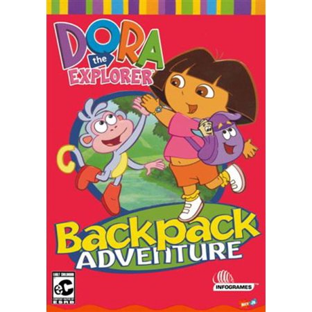Dora the Explorer Backpack Adventure Computer Game ~ Join Dora & her Friends for an Interactive Adventure