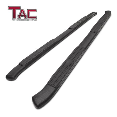 TAC Side Steps for 2007-2018 Chevy Silverado / GMC Sierra 1500 / 2500 / 3500 Crew Cab Pickup Truck 4.25