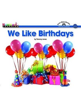 Newmark Learning NL2025 Social Studies - We Like Birthdays Lap Book