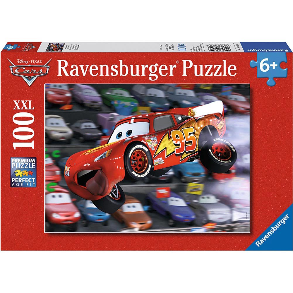 Cars Everywhere 100 Piece Puzzle
