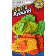 ImperialCat 01282 Neon Fish Duo Catnip Toy