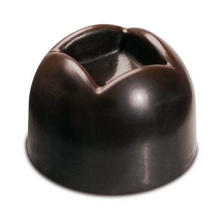 - Silikomart Silicone Chocolate Mold: Dimpled Dome 28mm Diameter x 20mm High, 10 Milliliters, 15 Cavities (Totaling 150 ml)