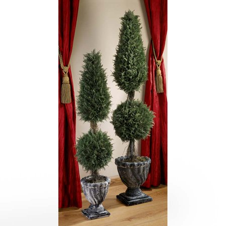 48In Classic Evergreen Topiary Design Toscano Topiary  Tree  Collection  French