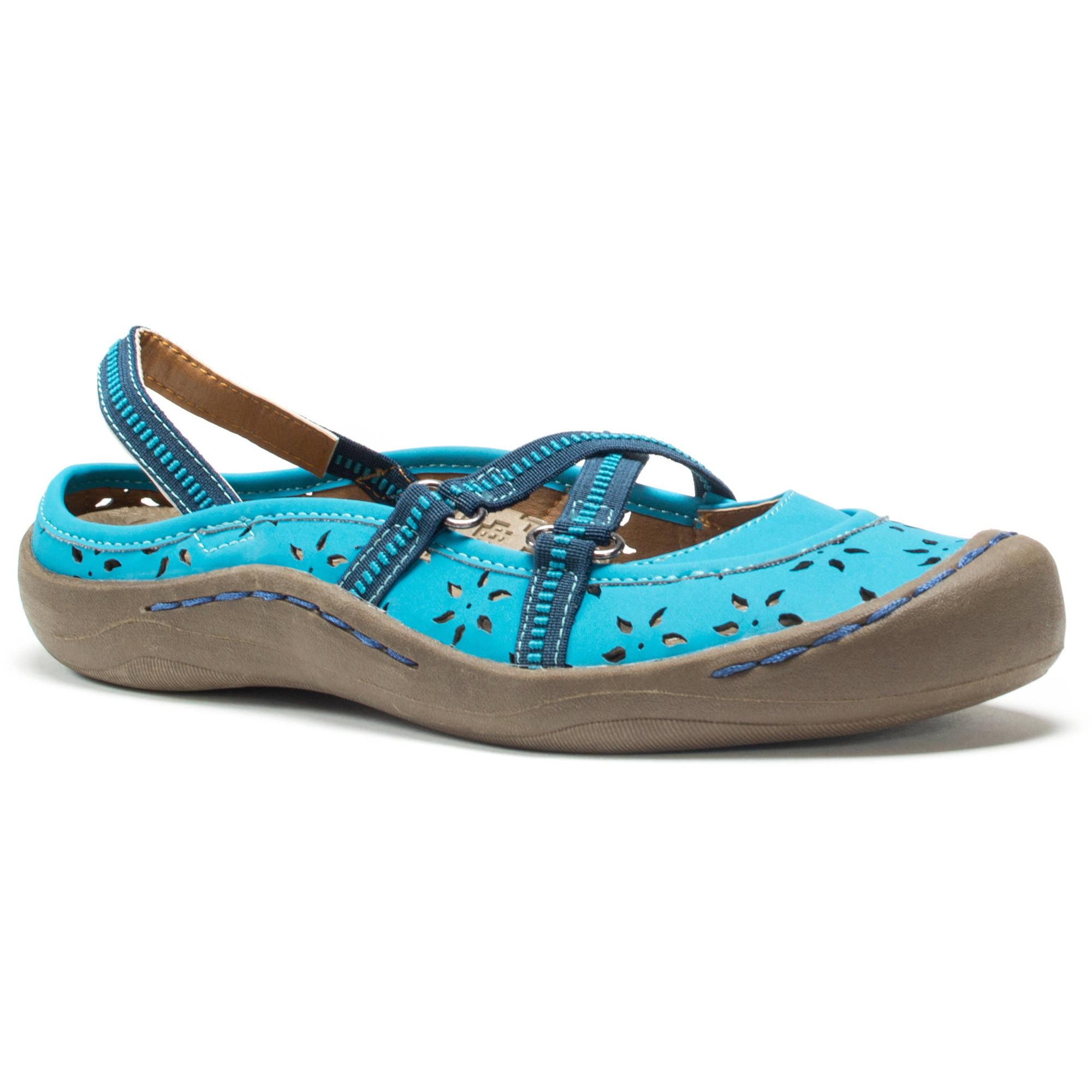 MUK LUKS - Women s Erin Strap Shoes - Walmart.com 66e30717b68e