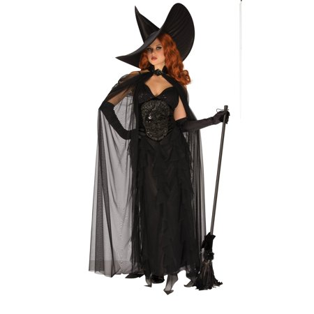Elegant Witch Womens Costume - Elegant Witch Costume