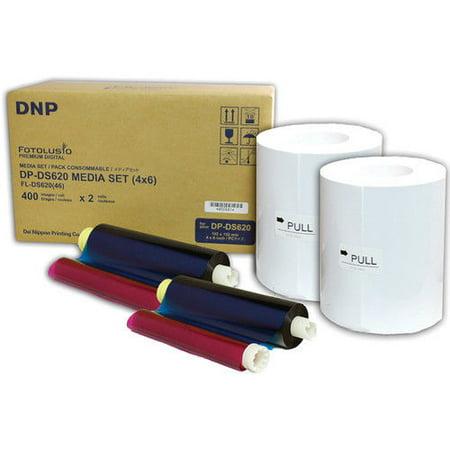 - DNP DS620 Dye Sub Media Kit, 800 4