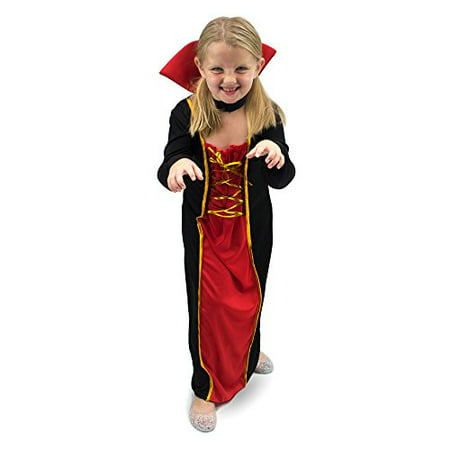 Halloween Vampire Dress (Boo! Inc. Vexing Vampire Children's Halloween Dress Up Party Roleplay)