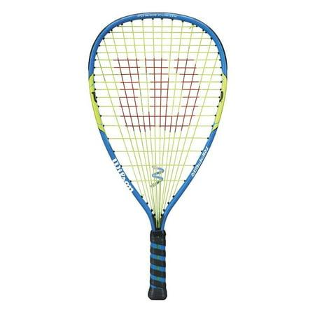 wilson ripper racquetball racquet - grip 3 5/8