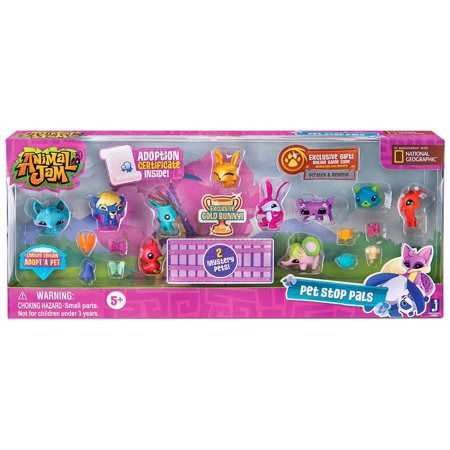 Animal Jam Pet Stop Pals 12-Pack Figure - Halloween Song Animal Jam
