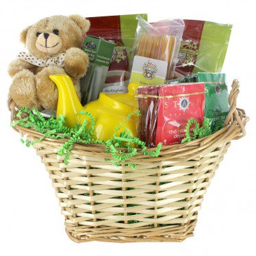 Just What The Doctor Ordered - Get Well Tea Gift Basket](Homemade Halloween Gift Basket Ideas)