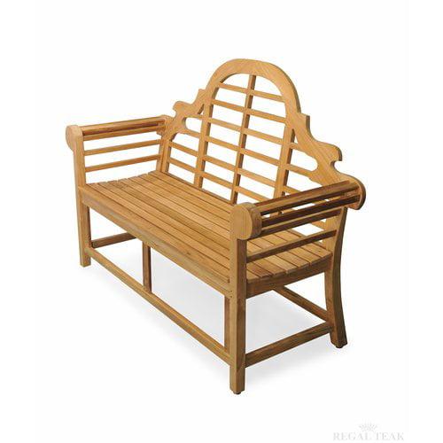 Regal Teak Teak Marlboro Lutyens Garden Bench