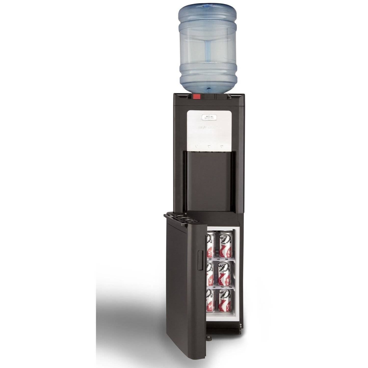 Refrigerated Water Dispenser Glacial Taller Black Top Load Water Dispenser Water Cooler With