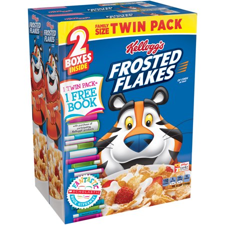 Kelloggs Frosted Flakes Bts Cereal  Twin Pack 53 6 Oz