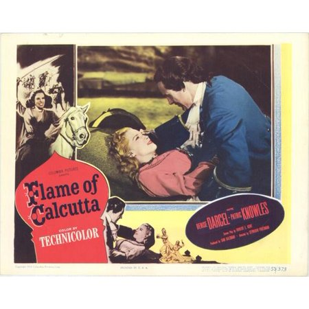 Flame of Calcutta - movie POSTER (Style B) (11