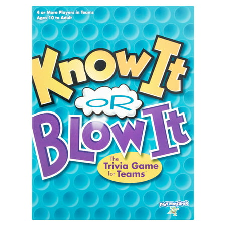 Spot It Games (Know It Or Blow It Game)