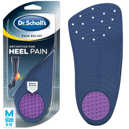 - Dr. Scholl's Pain Relief Orthotics for Heel for Men, 1 Pair, Size 8-12