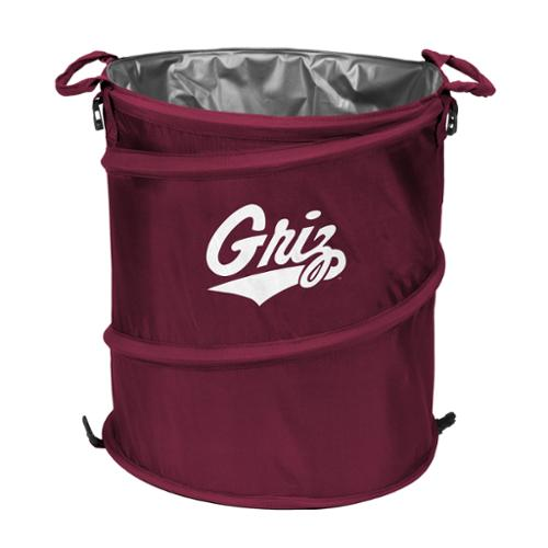 "Logo Chair NCAA Montana 16.5"" x 19"" Trash Can Cooler"