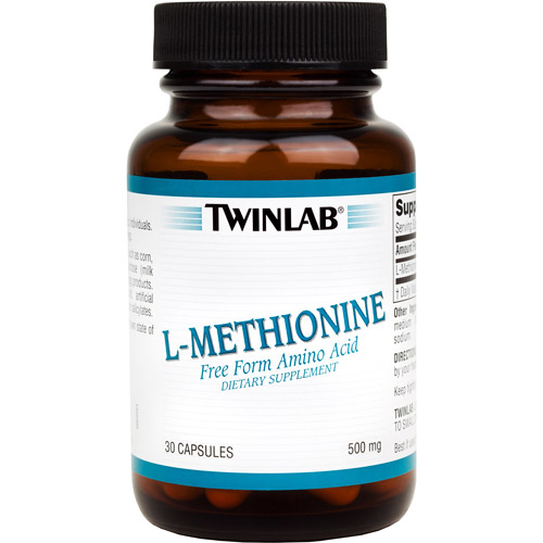 TwiNlab L-Methionne Caps 500 mg 30ct