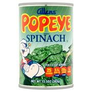 Allens Popeye Spinach 13.5 oz