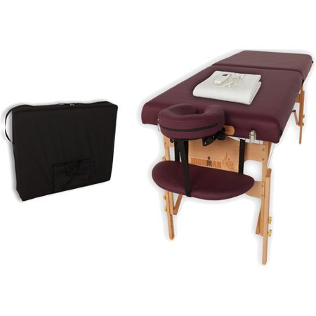 Ironman 30  Ventura Massage Table With Heating Pad And Carry Bag