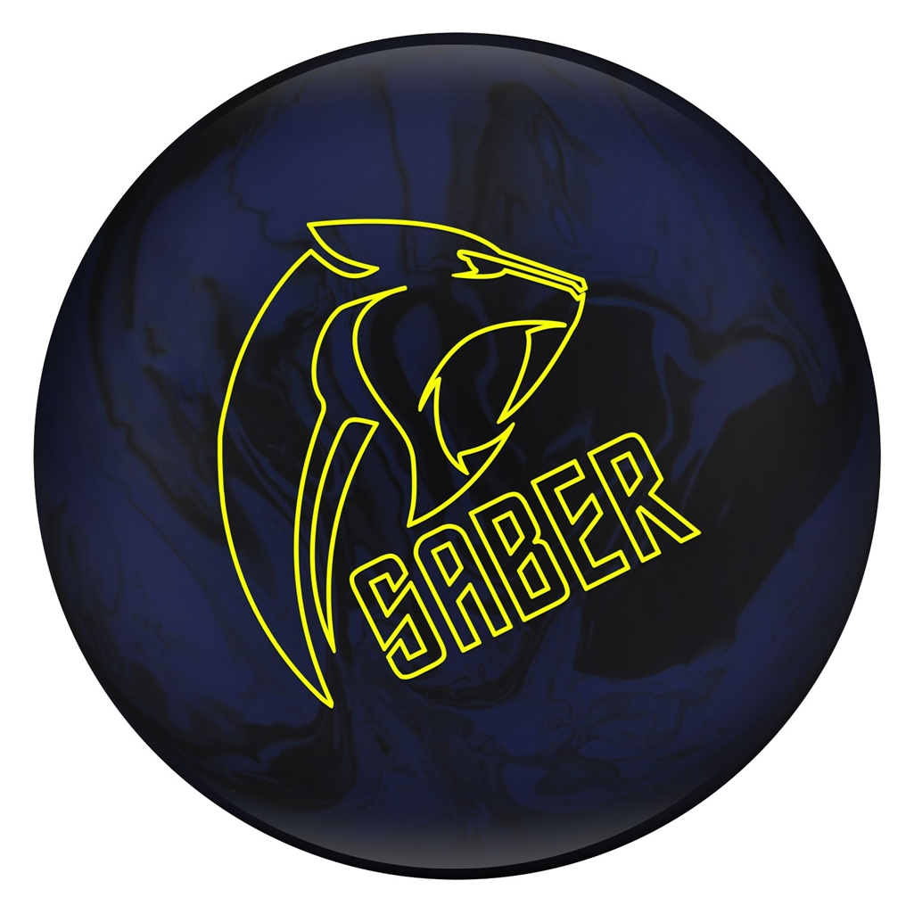 Columbia 300 Saber Bowling Ball- Blue Black- 12 lbs by Columbia 300 Bowling