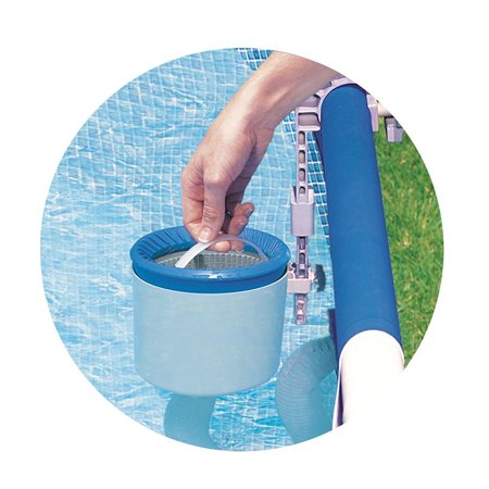 Intex Deluxe Wall-Mounted Swimming Pool Surface Automatic Skimmer | 28000E - image 3 of 6