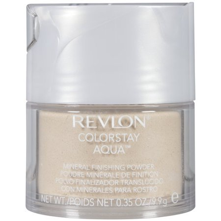 - Revlon Revlon ColorStay Aqua Mineral Finishing Powder, 0.35 oz
