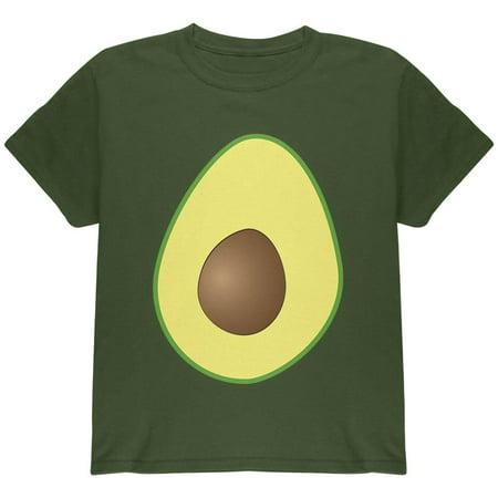 Halloween Avocado Costume Youth T Shirt