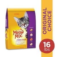 Meow Mix Original Choice Dry Cat Food, 16 Pounds